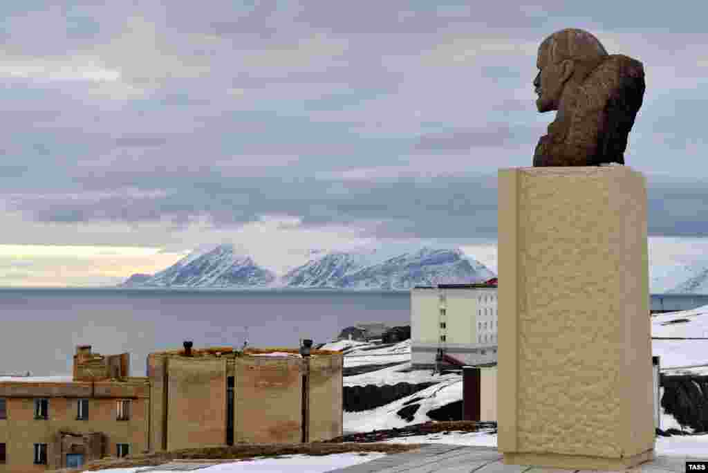 Svalbard, Norway: This Lenin in the center of the Russian mining community of Barentsburg has  a 1,000-yard stare that seems fitting for the Arctic wilderness he overlooks.