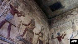 Настенные росписи в Луксоре