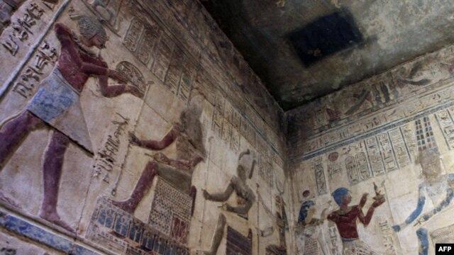 Ilustracija, mural u Luksoru