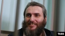 Борис Стомахин в зале суда