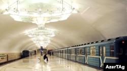 Bakı metrosu (Arxiv foto)