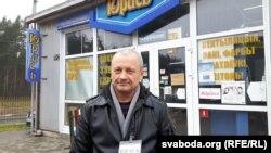 Юрась Галянеўскі, гаспадар крамы «Юрась»