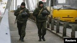 Военнослужащие Национальной гвардии Украины.