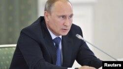 Президент России Владимир Путин. 26 августа 2013 года.
