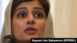 Pakistan's Foreign Minister Hina Rabbani Khar