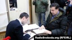 Міхеїл Саакашвілі подає заяву до Антикорупційного бюро України