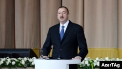 Президент Азербайджана Ильхам Алиев, 2012