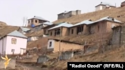 Tajikistan -- village, houses, house, home, 23 January 2014
