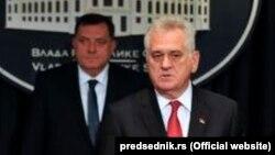 Српскиот претседател, Томислав Николиќ