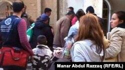 مسيحيون سوريون يفرون من الحسكة السورية
