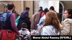 مسيحيون في الحسكة، 24 شباط 2015.
