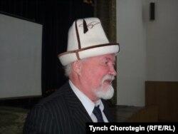 Профессор Ю.С.Худяков на конференции по истории Кыргызского каганата. Бишкек. 16.11.2012.