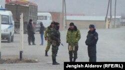 Қирғиз-тожик чегараси 14 март, 2014 йил.