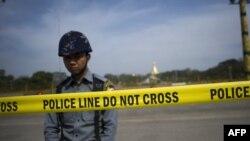 Policija, Mjanmar