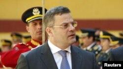 Aлбанскиот министер за одбрана Арбен Имами