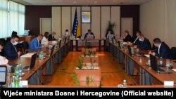 Vijeće ministara BiH na početku sjednice na kojoj nije usvojen ni dnevni red