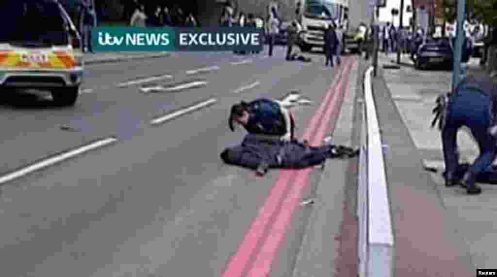 Место убийства, Лондон 22 мая 2013 г.