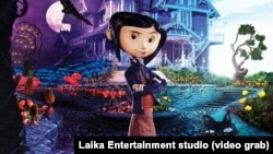 """Постер из мультфильма """"Коралина в стране кошмаров"""", Laika Entertainment studio"""