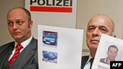 The killing appears to be the latest in a rash of assassinations of Chechen exiles, including in Vienna, where officials (pictured) were pursuing another case in January.