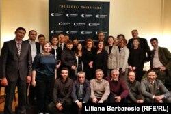 """Participanții la dezbaterea proiectului """"Dialoguri transnistrene"""" la Bruxelles"""
