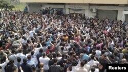 تظاهرات ضد حکومتی در بانیاس، جمعه- ۹ اردیبهشت