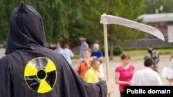 Татарстанда атомга каршы үткән пикетларның берсе