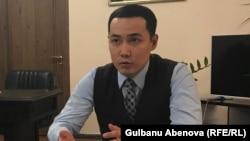 Руководитель управления образования города Астаны Ануар Жангозин. Астана, июль 2018 года.
