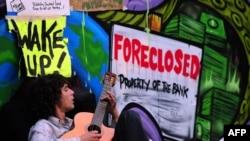 Акції «Захопи Уолл-стріт» в Лос-Анджелесі напередодні