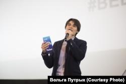Андрэй Кім на прэм'еры анімацыйнага мультфільма Хаяо Міядзакі «Рыбка Поньё»