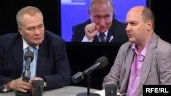Александр Сытин и Сергей Жаворонков в студии Радио Свобода