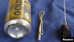 Фото взрывного устройства, опубликованное в Dabiq
