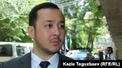 Азамат Шамбилов, региональный директор представительства Penal Reform International (Международная тюремная реформа) в Центральной Азии. Алматы, 16 июня 2017 года.