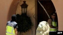 Обыск в доме одного из членов Тамбовской группировки, Испания