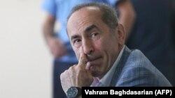 Роберт Кочарян в суде. Ереван, 13 мая 2019
