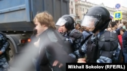 Участники организованного Навальным митинга 12 июня (архивное фото)