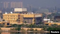 The U.S. Embassy in Baghdad is the largest American foreign mission. (file photo)
