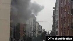 Explozie la Madrid