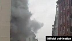 Експлозија во Мадрид