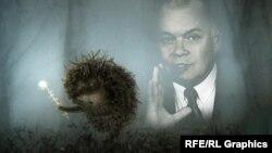 Герой знаменитого мультфильма в пропагандистском тумане