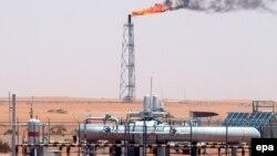 میدان نفتی خُریس عربستان.