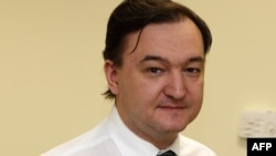 Lawyer Sergei Magnitsky in Moscow in 2006