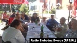 Средба на лицата со инвалидитет од Македонија со нивните колеги од Србија и Словенија.