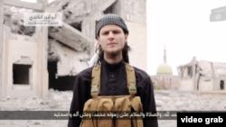 """""""Ислам мемлекеті"""" ұйымы таратқан видеодағы канадалық Джон Магуайр."""