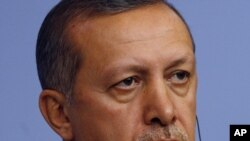 Түркия премьер-министрі Режеп Тайып Ердоған. Анкара, 6 қыркүйек 2011 жыл.