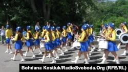 """Открытие """"Европейского городка"""" в Киеве. 2 июня 2012 г"""