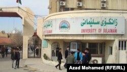 مدخل جامعة السليمانية