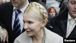 Юлия Тимошенко, бывший премьер-министр Украины.
