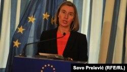 Верховный представитель ЕС по вопросам внешней политики и безопасности, вице-председатель Еврокомиссии Федерика Могерини (архив)