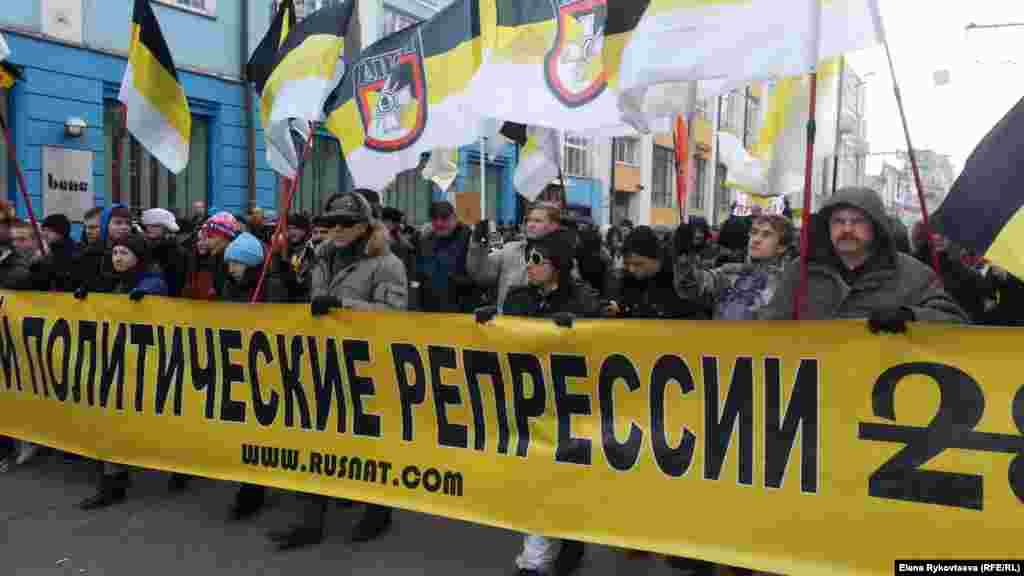 2. Fevral 2014 Moskvada müxalifətin yürüşü