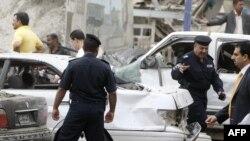 عواقب انفجار قرب مبنى وزارة العدل في بغداد، 25 تشرين الأول 2009